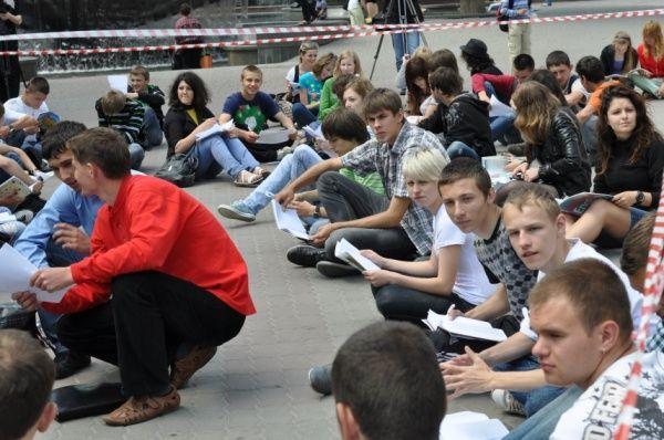Студенти Франківська